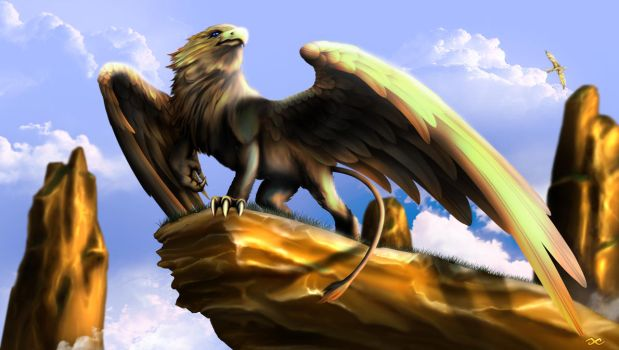 Griffin by guillaume-phoenix