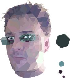Low Poly Self Portrait v1.0 by damgood