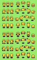 Adventure time RPG: Jake the dog overworld by tebited15