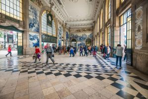 sweet Portugal - Sao Bento Railway Station by Rikitza