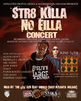 Str8 Killa No Filla Flyer by dmaabsta