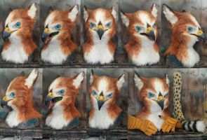 Fynath gryphon commission by Crystumes