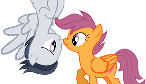 Oh Hi there Scoots by DreamCasterPegasus