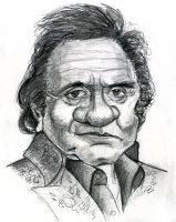 Johnny Cash by Caricature80