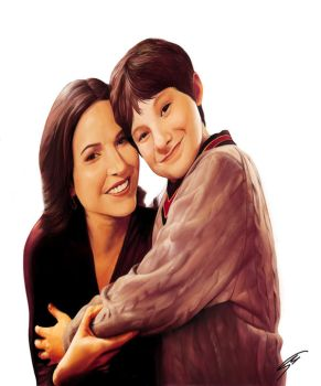 Regina and Henry (Lana and Jared) by maite15