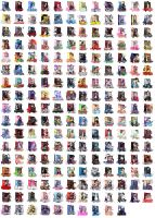 Anime Folder Icon pack 4 by pharrelle