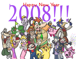 SSB Ring in the New Year by Kaaziel