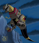 TFTM Transformations: Grimlock Commission by ZeHornet