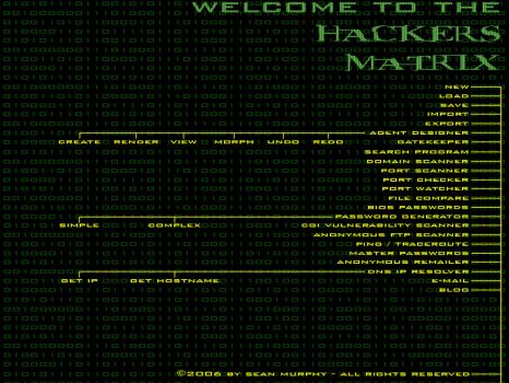 Hacker's Matrix by exarobibliologist