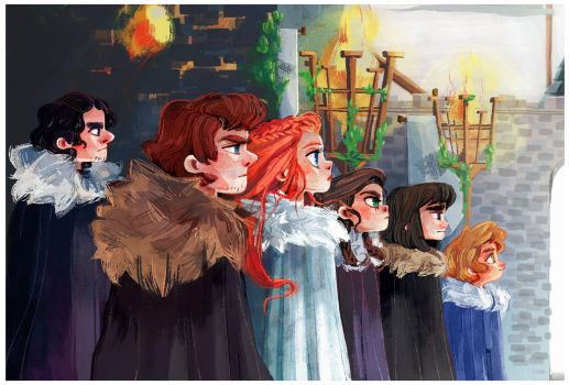 House Stark by Siarina