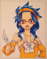 Levy (Fairy Tail) by Yachiru-likes-candy