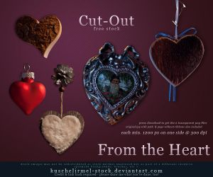 From the Heart - Cut Out Stock by kuschelirmel-stock