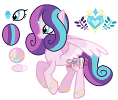 Princess Crystal Heart by SuperRosey16