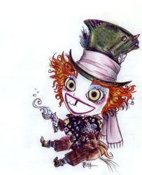 Burton's Mad Hatter by rochel-chan