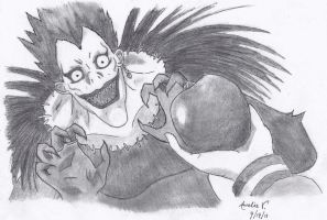 Ryuk Sketch by AureliaDominiqueVida