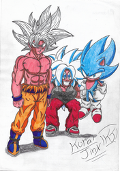 Ultimate Forms Unleashed!! by KuraiJinx