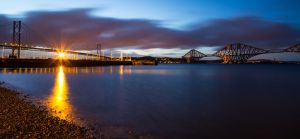 Forth Bridges, South Queensferry, Scotland. by BusterBrownBB
