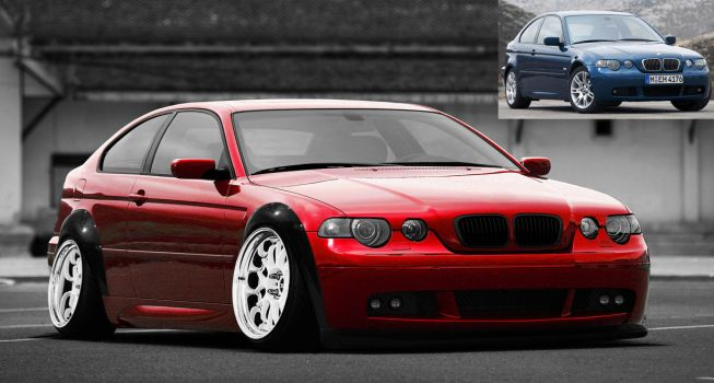 VT fun: BMW 3-series compact by Patsurikku