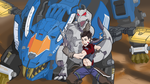 Zoids - Draw it again Commission by pillowds