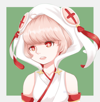 [FANART] Strawberry Daifuku from Food Fantasy by tamaneko-i-b