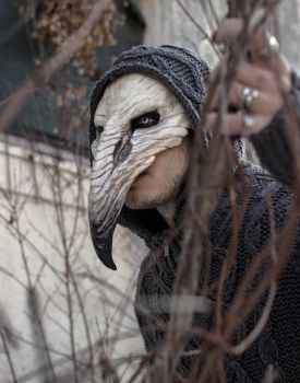 Pestilence Crow Mask by FraGatsu
