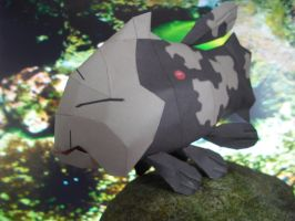 Relicanth papercraft