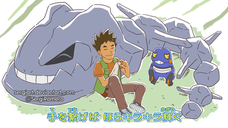 What if Brock was in Sun and Moon opening 3? by SergiART