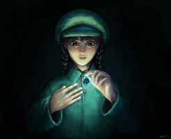 Sheeta from 'Castle in the Sky' by Exilicca