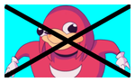 Anti Ugandan Knuckles Stamp by FcoMk513