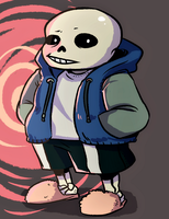 it's been 1000 years but heres sans by KuudesSilma