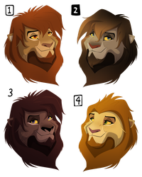 Bearded Bust Adoption Auction-CLOSED!!! by albinoraven666fanart