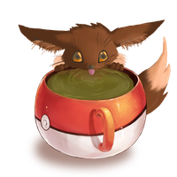 poke' tea time by Awkwardly-Handsome