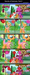 Family Time: Swords of Darkness Part 2 by EmoshyVinyl