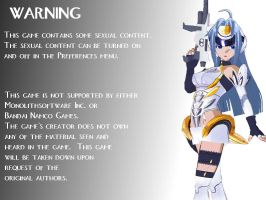 New warning screen by Zetachi