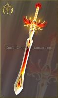 Phoenix Sword (CLOSED) by Rittik-Designs