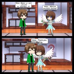 If Blanc was an Angel... by MegaAli