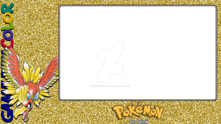 Pokemon Gold Layout by BrandyKoopa92