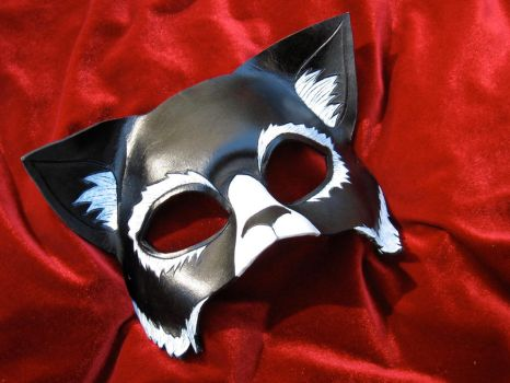 Black Cat Mask by MummersCat