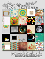 250 Misc. Icon Textures by 99mockingbirds