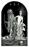 Death and the Maiden by eliasaquino