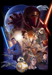 The Force Awakens by Lillidan86
