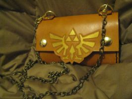 Zelda Triforce bag - w removable chain by Merice