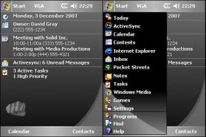 Solid Black - Windows Mobile 5 by Grayda