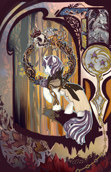 Velvet Sparkle and the Ghosts of Leaves by Saint-Juniper