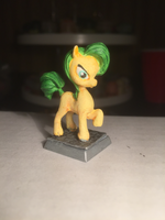 Yellow Earth Pony Table-Top Miniature by NPCtendo