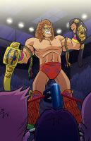 Ultimate Warrior by natelovett