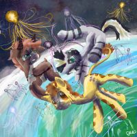 Zecora More Flying jellys by SuperRobotRainbowPig