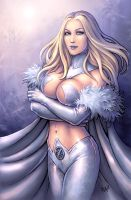 Emma Frost (SFW version) by Candra