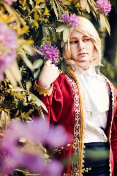 aph France cosplay by FrauDoku