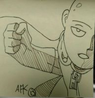 F:art Saitama by A-Fistful-Of-Kittens